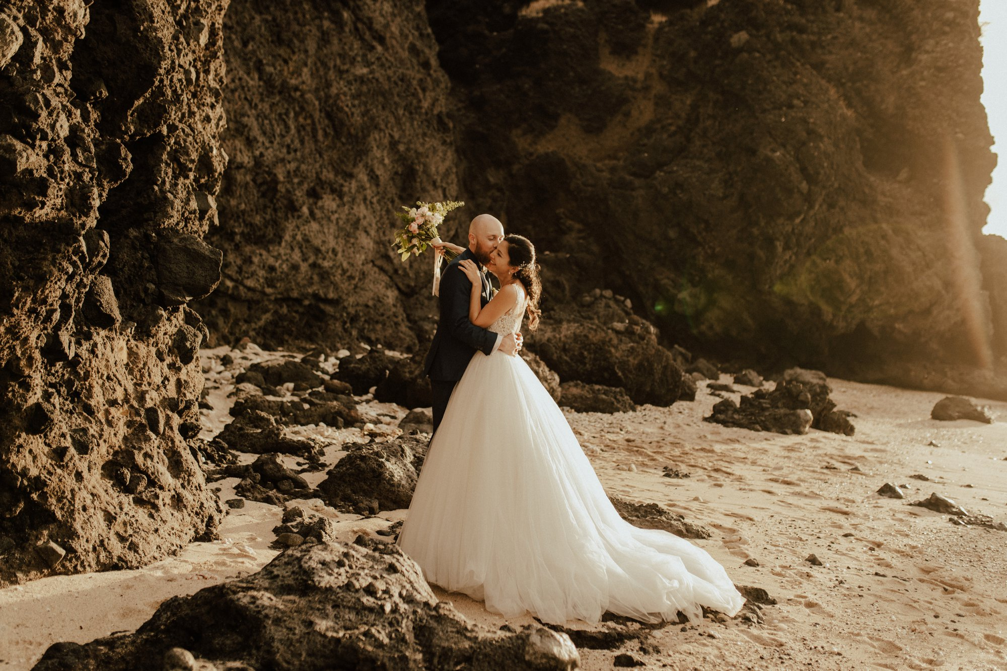 Summer wedding in Reunion Island