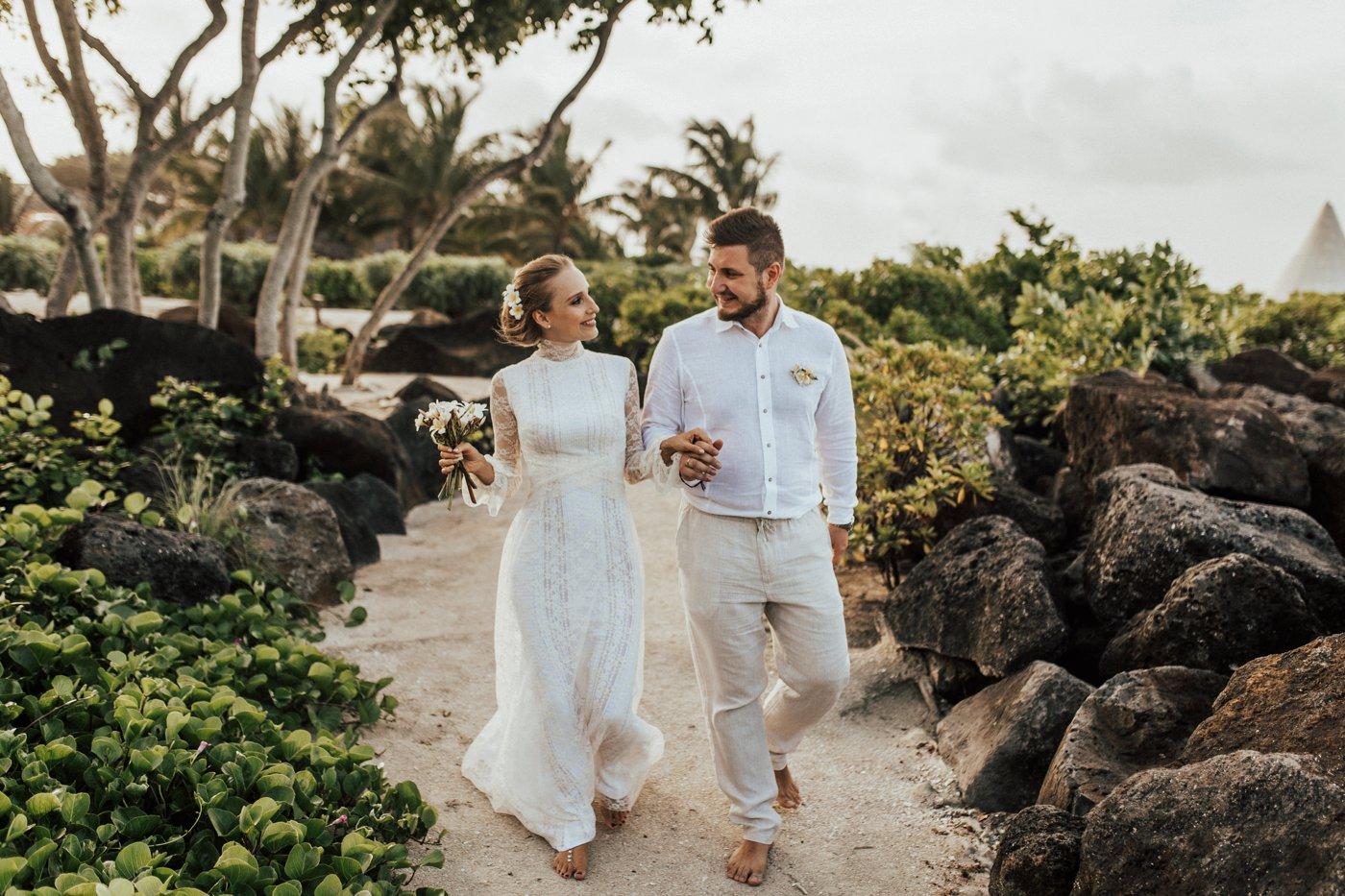 Un elopement à l'île Maurice
