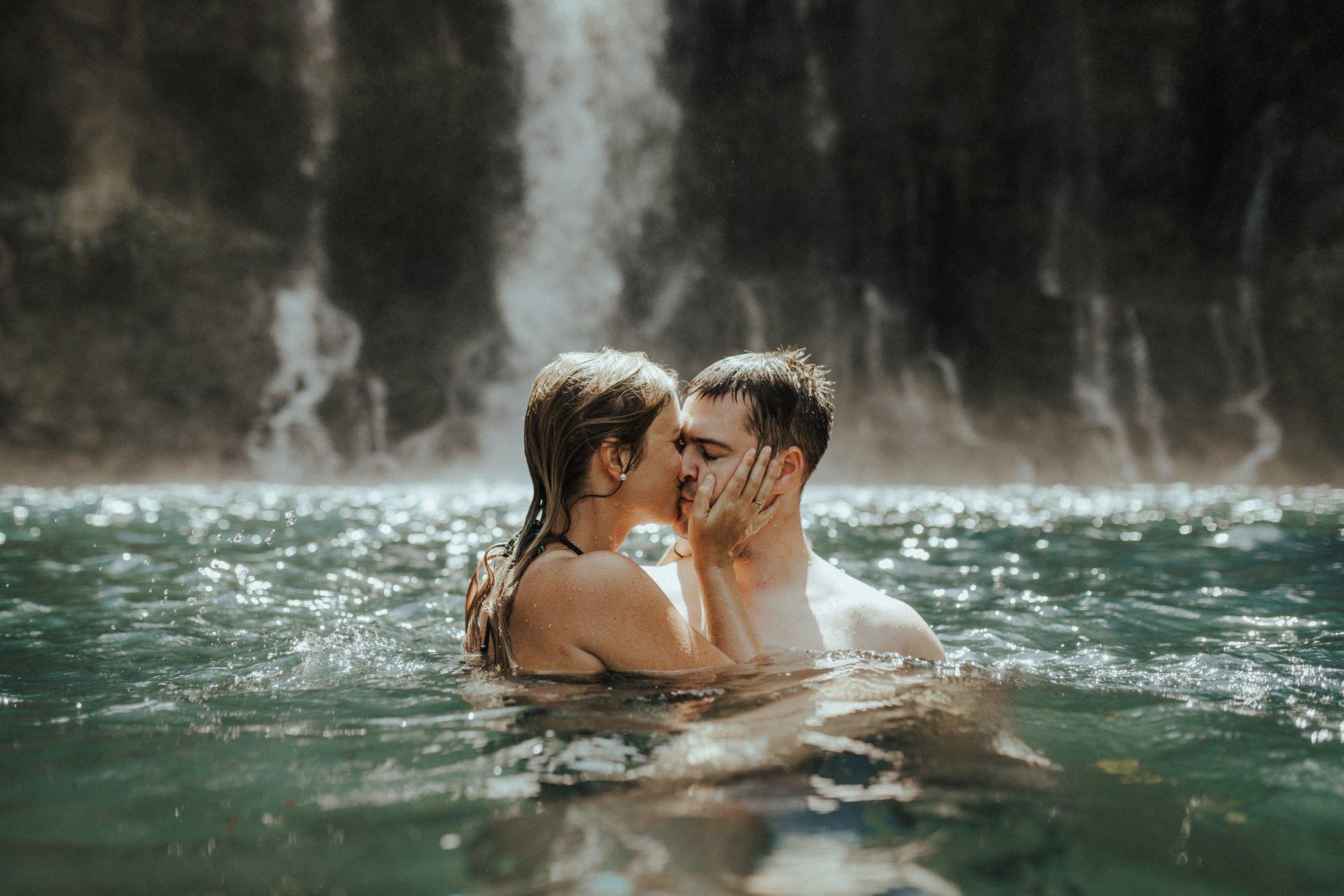 Honeymoon and waterfalls – Indian Ocean