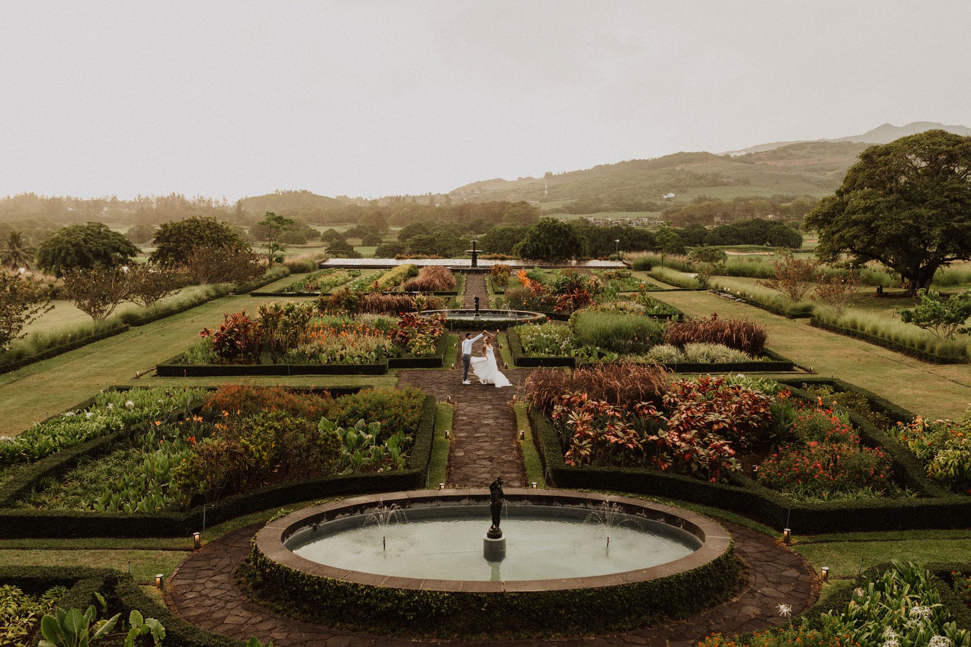 Destination wedding in Mauritius