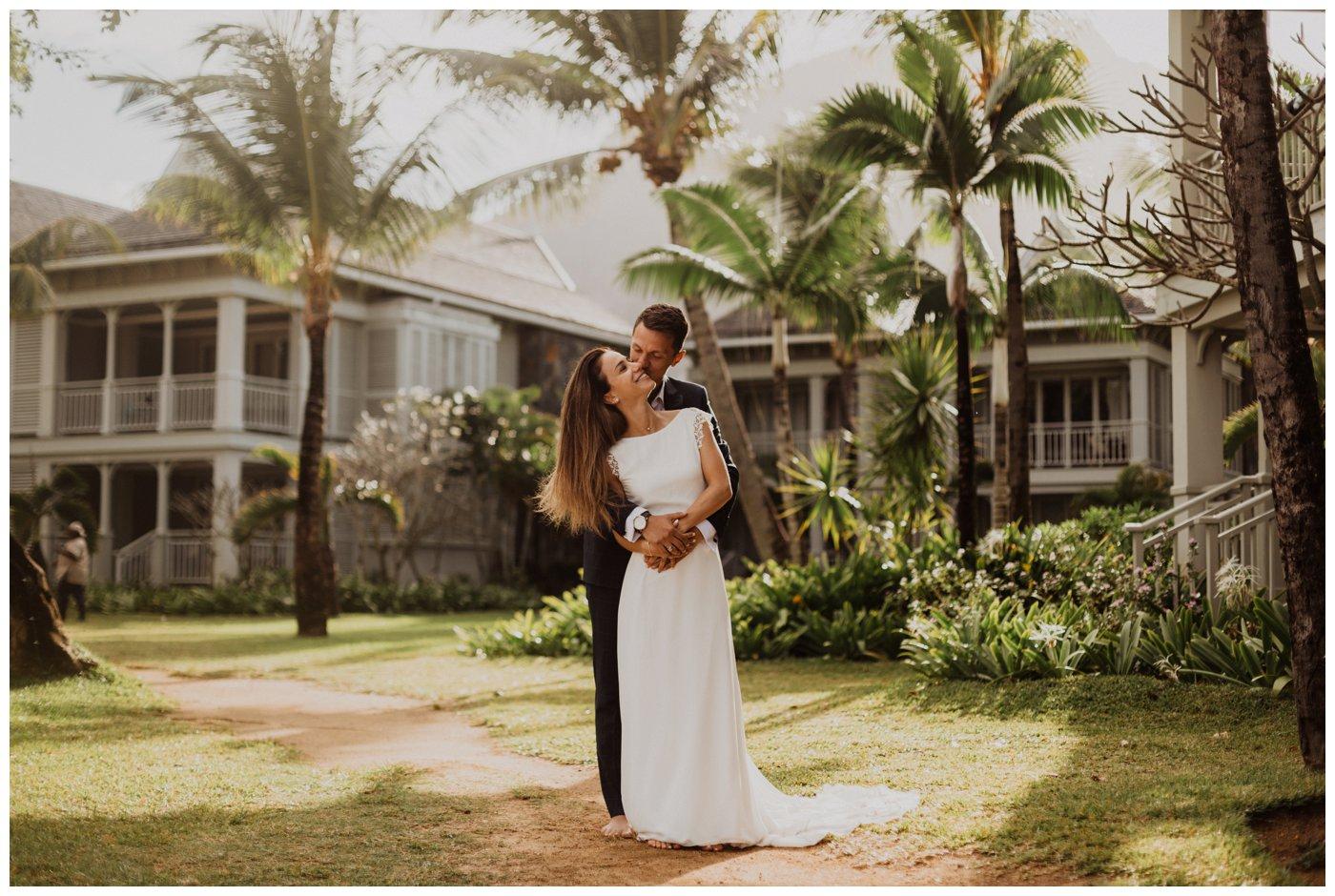 Honeymoon photoshoot in Mauritius